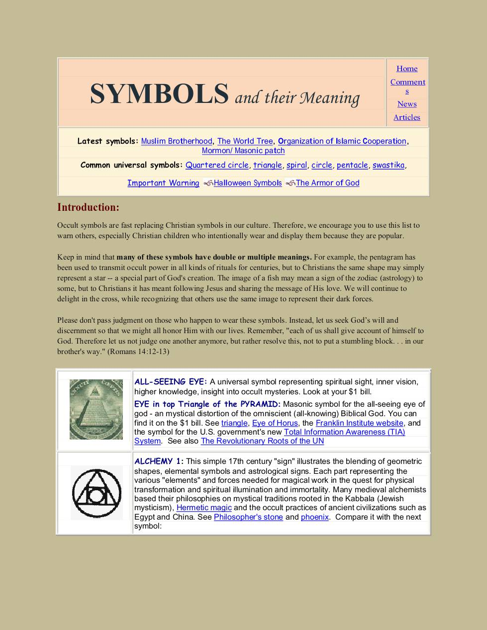 Symbols and their meaning dochub biocorpaavc