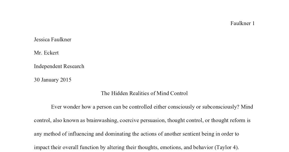 mind control essay Mind control methods in 1984 essay justice mind which weapons and technologies new from freedom and integrity mental of protections and rights the for working group rights human 501(c)3 nonprofit a .