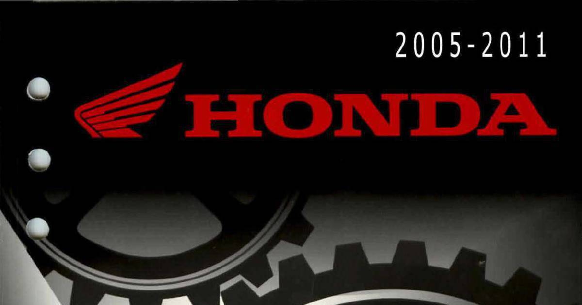 Honda Fourtrax Foreman TRX500 Service Manual | DocHub
