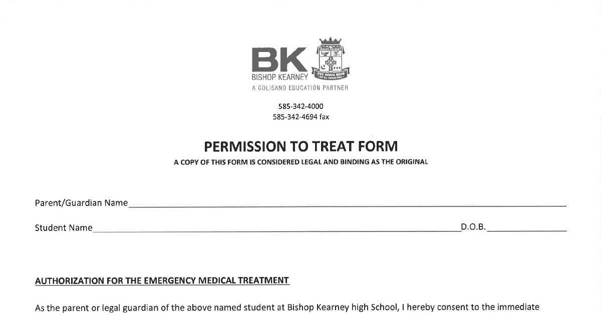 BK Permission to Treat Form | DocHub